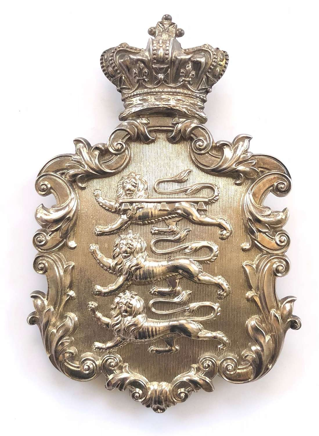 27th (Bolton) Lancashire RV Victorian Officer's pouch belt plate