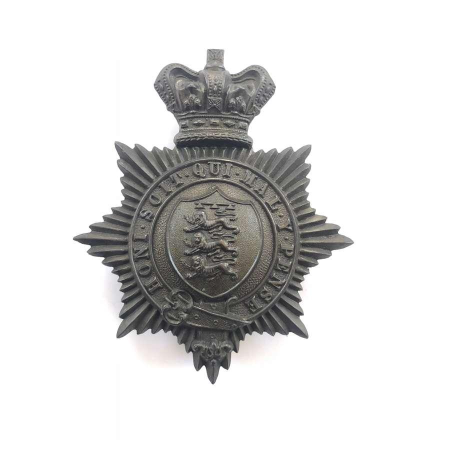 27th (Bolton) Lancashire RV Victorian OR's shako plate c1861-69