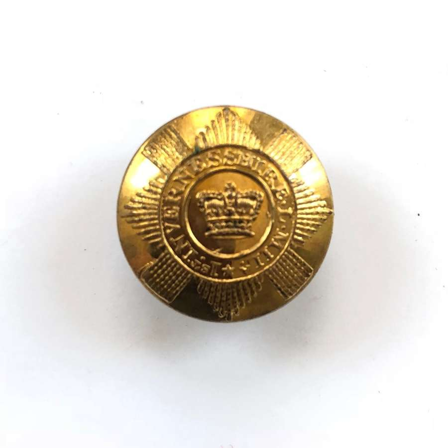 1st Invernesshire Local Militia Georgian Officer's coatee button