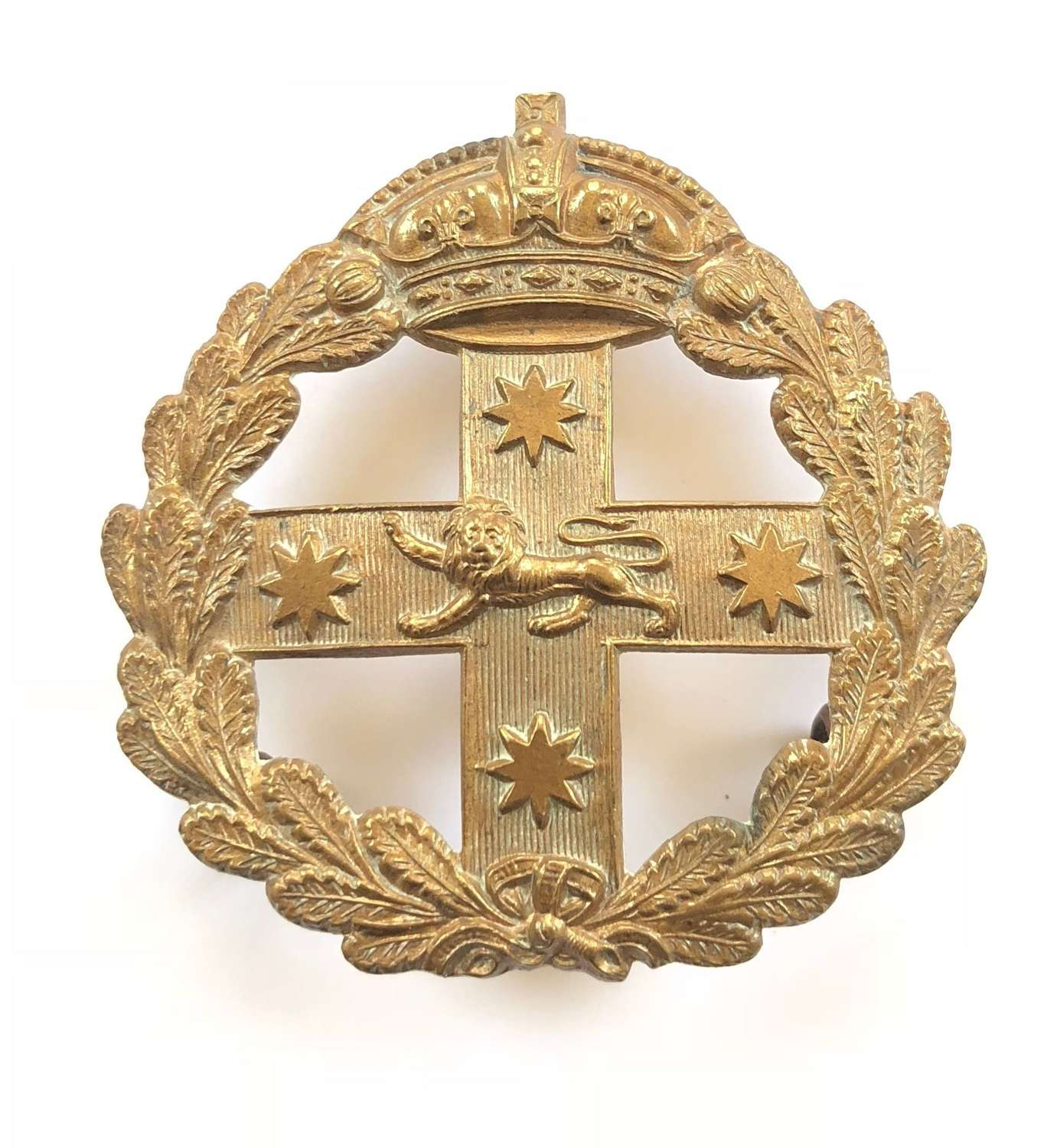 Australia. New South Wales Military Forces Victorian slouch hat badge
