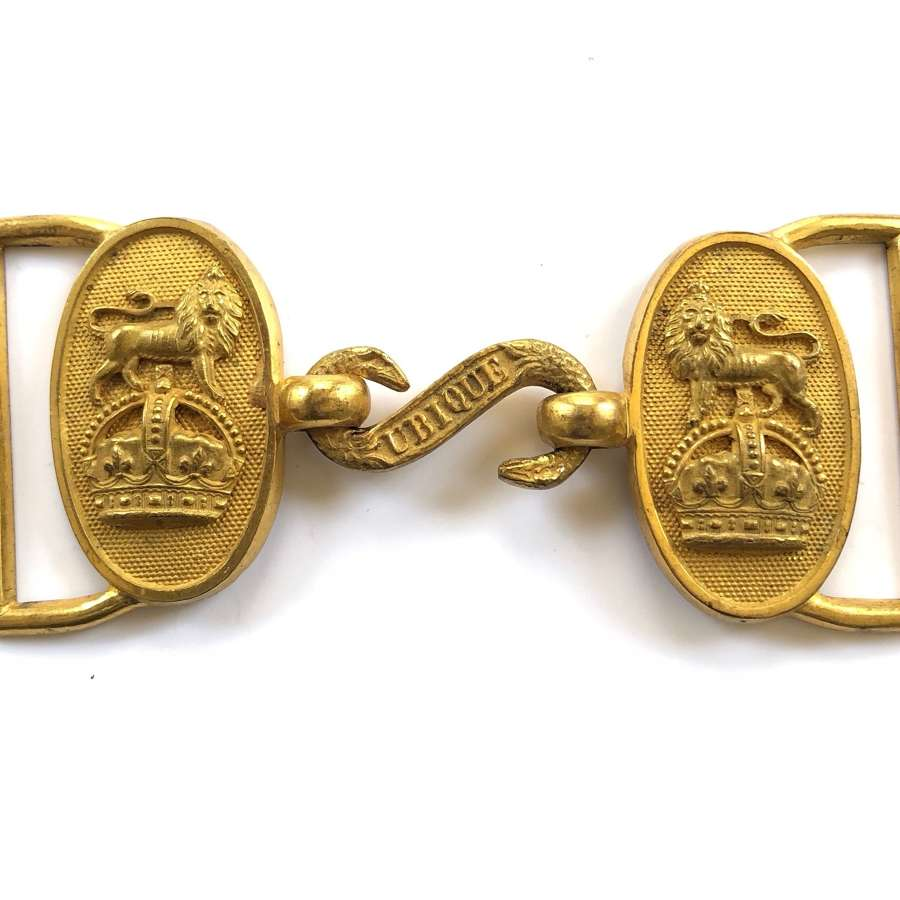 Royal Artillery post 1901 Officer's waist belt clasp