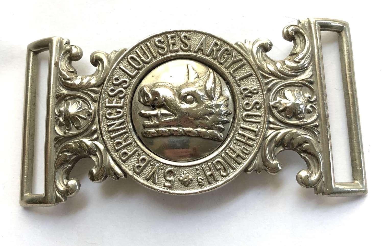 5th VB Argyll & Sutherland Highlanders waist belt clasp
