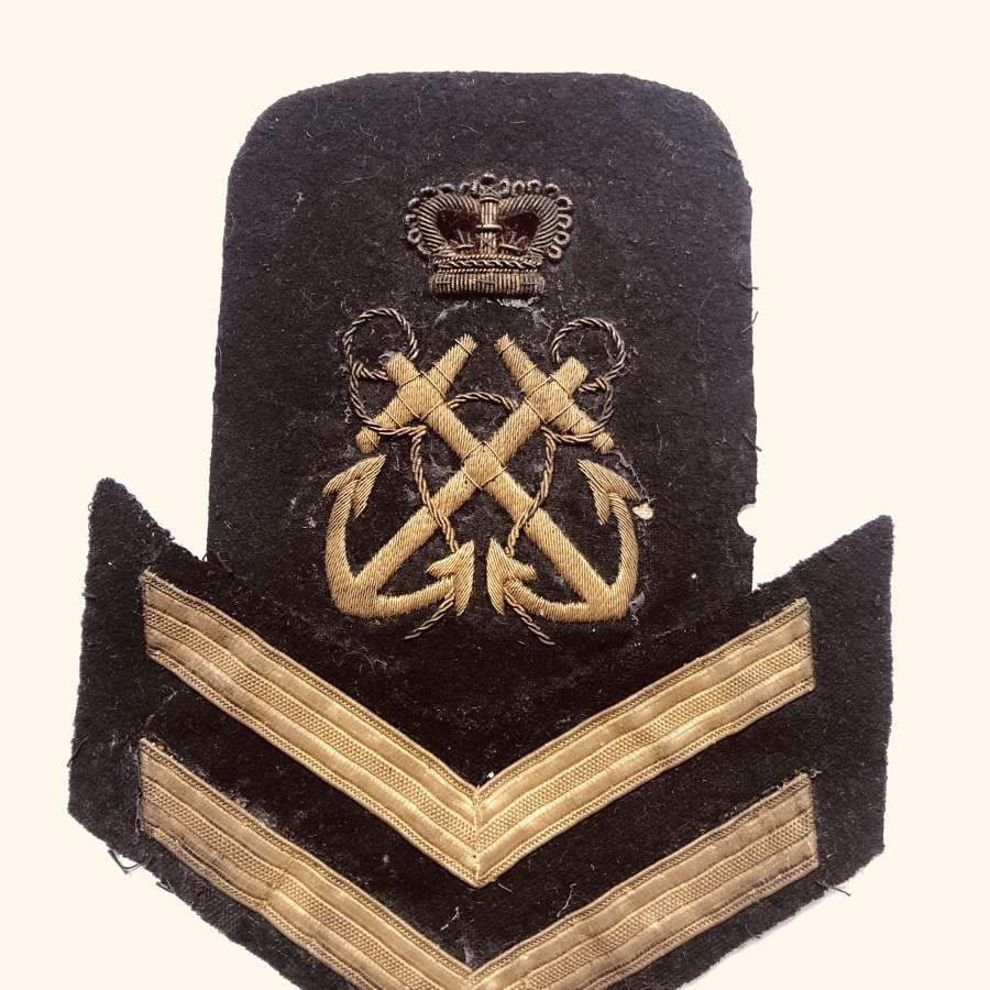 Royal Navy Petty Officer 1st Class rank badge