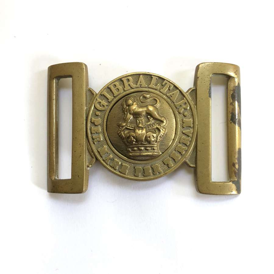 Royal Marine Victorian OR's waist belt clasp circa 1856-1901