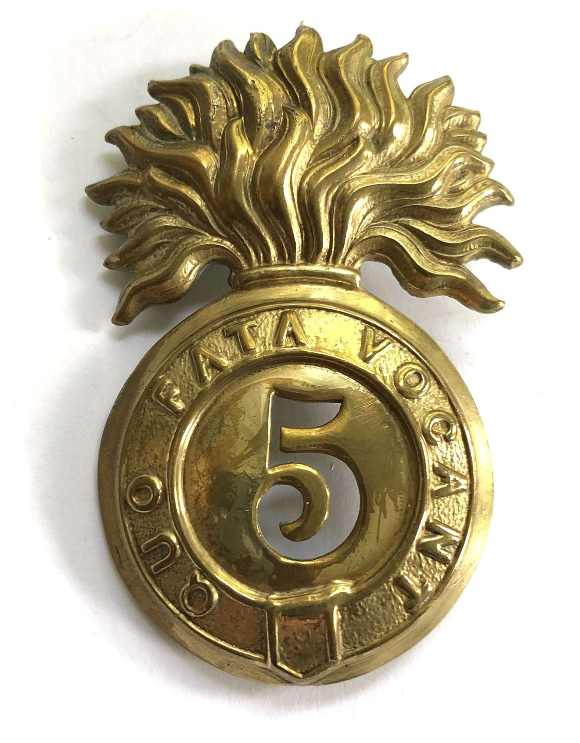 5th (Northumberland) (Fusiliers) Foot Victorian OR's glengarry