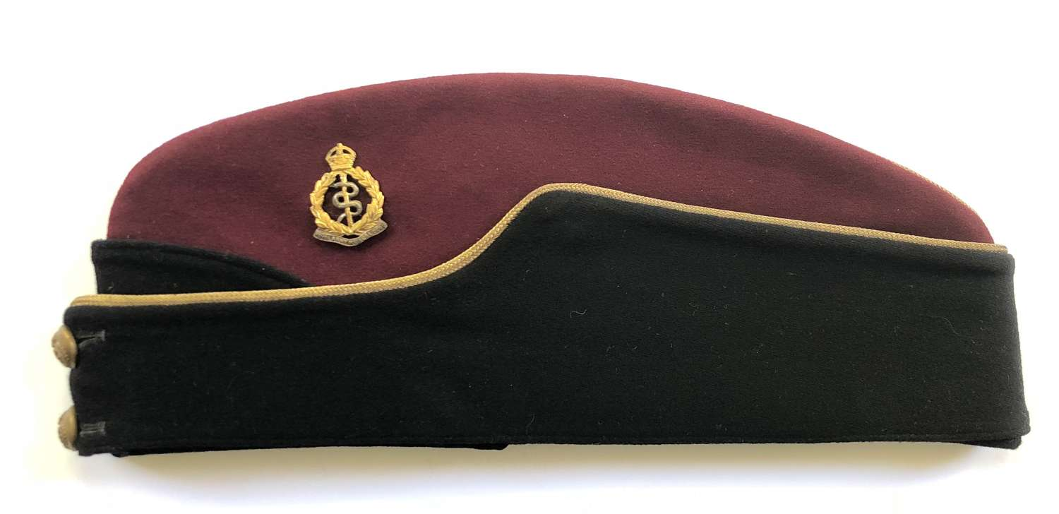 Royal Army Medical Corps RAMC Officer's Field Service Side Cap.
