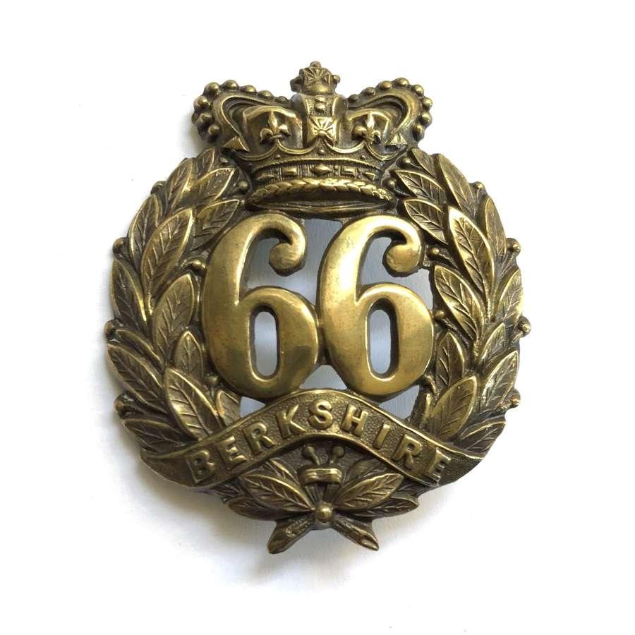 66th (Berkshire) Regiment of Foot Victorian OR's glengarry badge