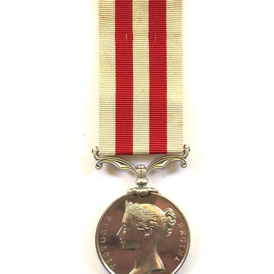 70th Foot (Surrey) Indian Mutiny Medal.