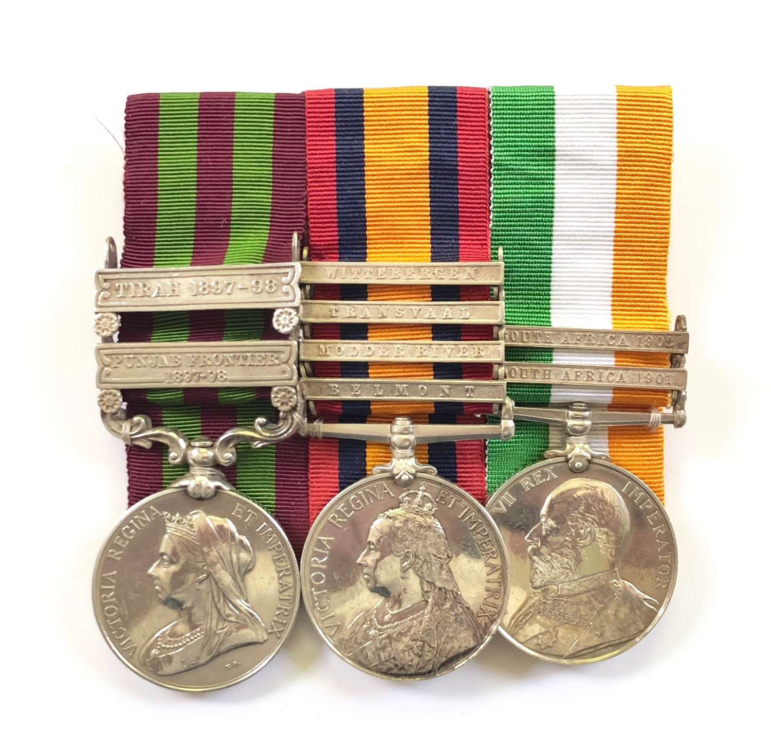 King's Own Yorkshire Light Infantry Victorian Group of Three Medals