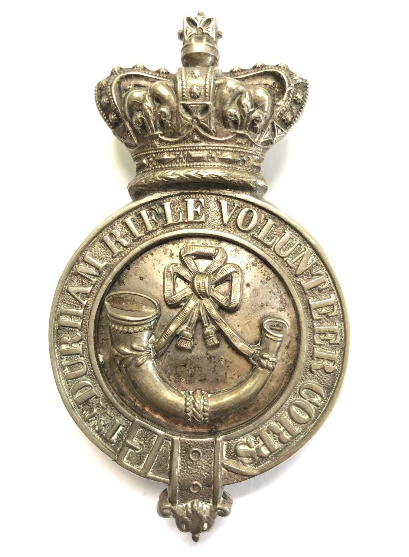 1st Durham Rifle Volunteer Corps Victorian Officer pouch belt plate