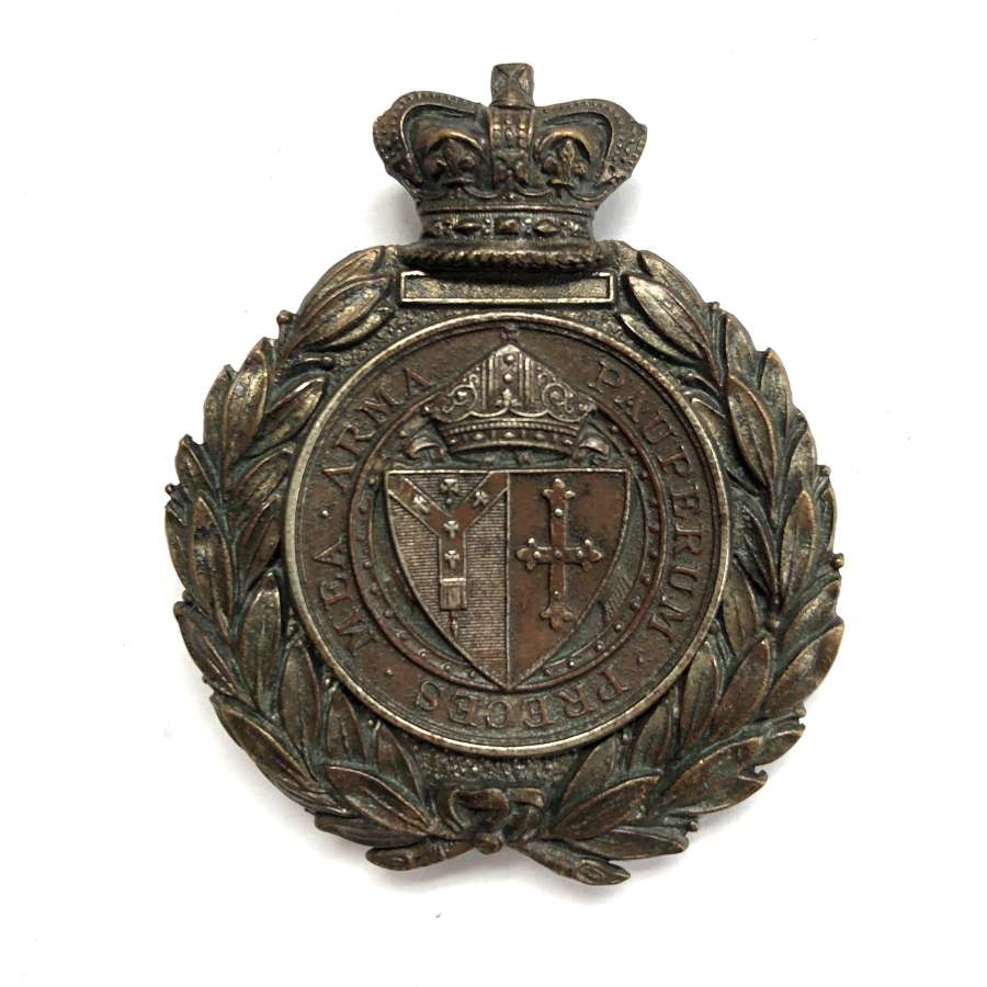 Whitgift School Cadet Corps Victorian Sergeant's pouch belt plate