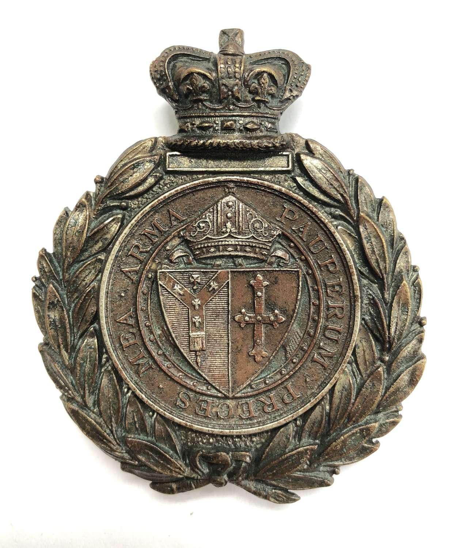 Whitgift School Cadet Corps Victorian Sergeant's pouch belt plate