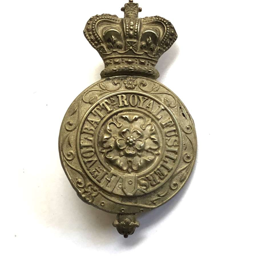 1st VB Royal Fusiliers Victorian Officer's pouch belt plate