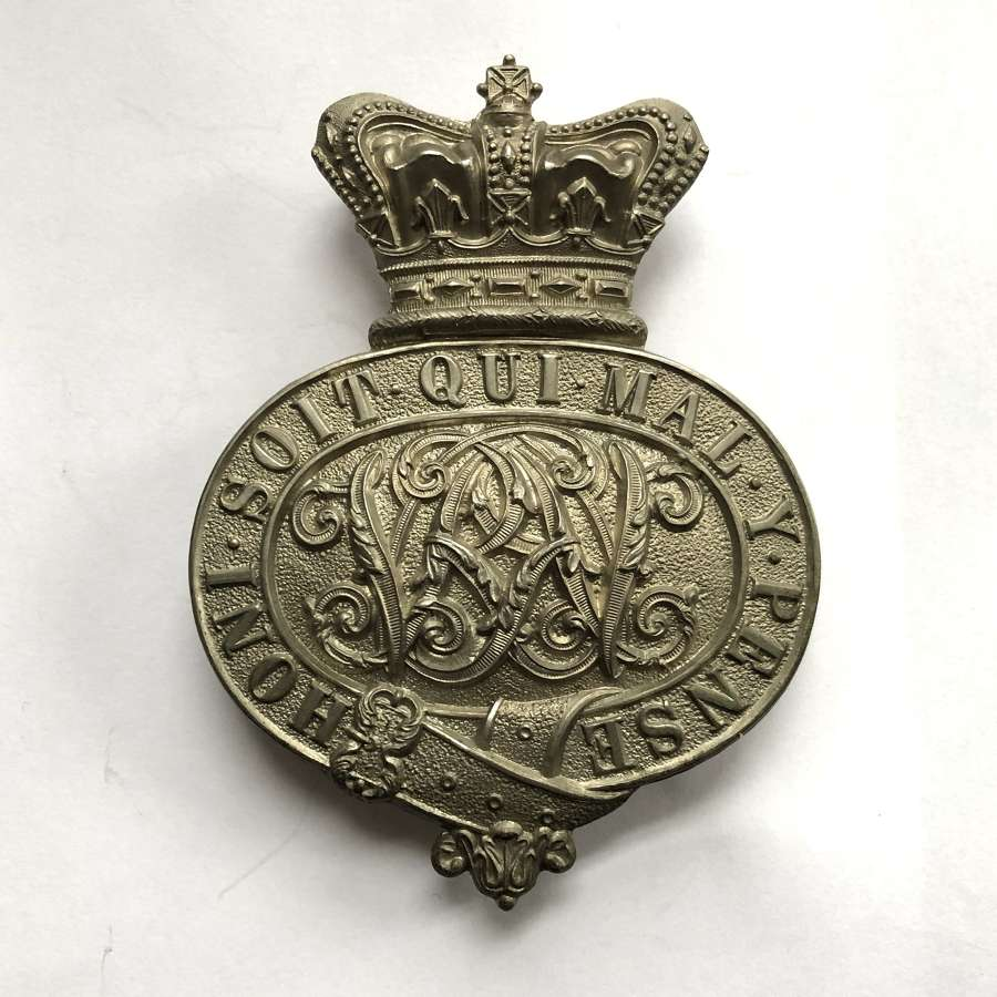 Honourable Artillery Company Victorian HAC valise badge