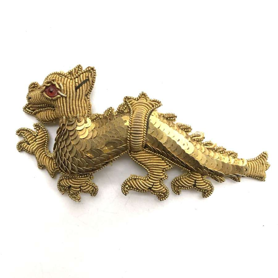 Berkshire Regiment Victorian pre 1891 Officer's forage cap badge