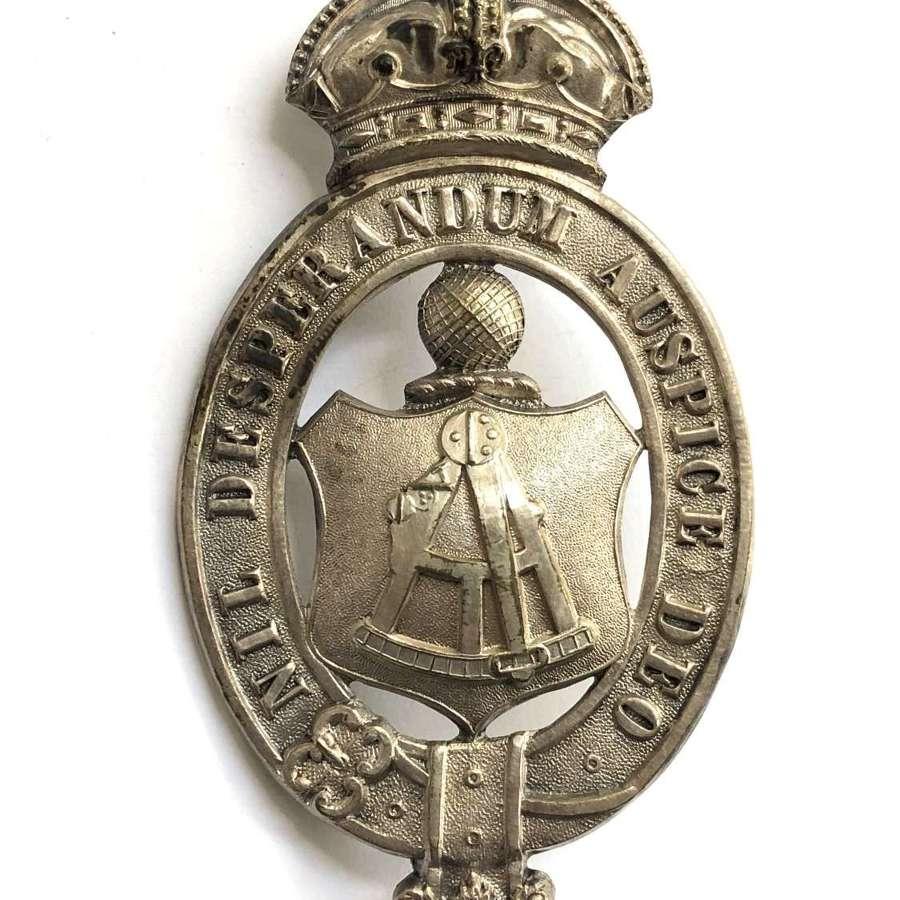 3rd (Sunderland) Durham Rifle Vols Victorian pouch belt plate