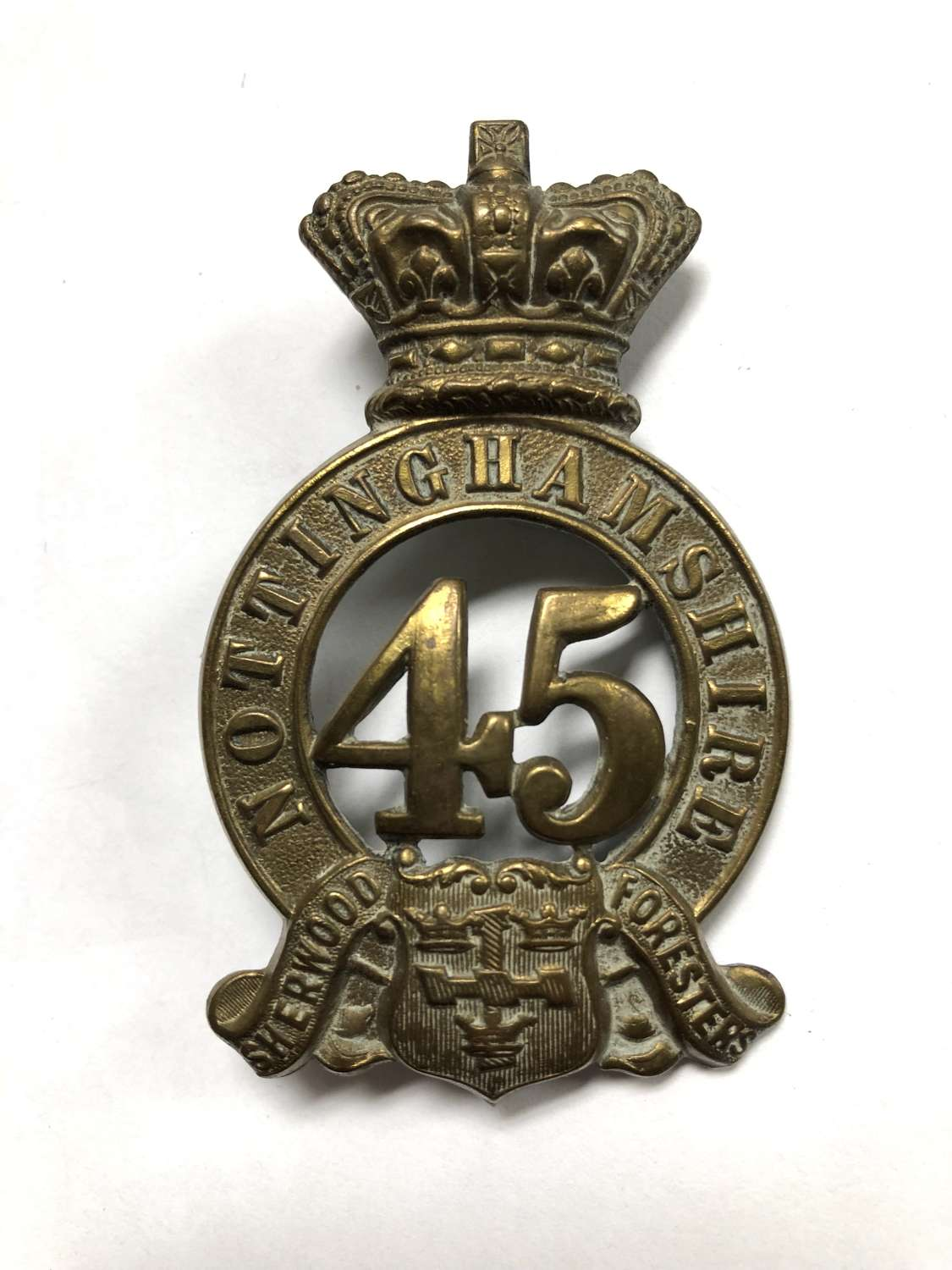 45th (Nottinghamshire Sherwood Foresters) Foot Victorian glengarry